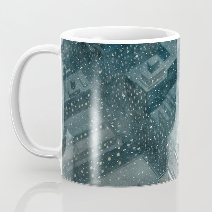 Red and the Empire State Building Coffee Mug