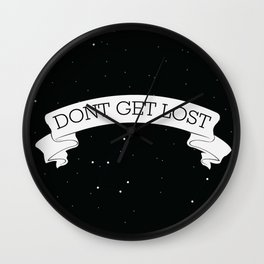 Dont get lost Wall Clock