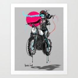 Andria Art Print