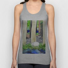 lost sheep Unisex Tank Top
