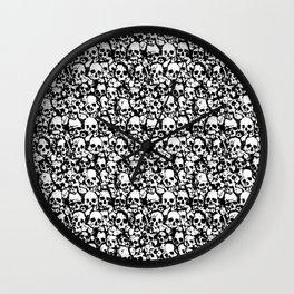 Skull Wall Wall Clock