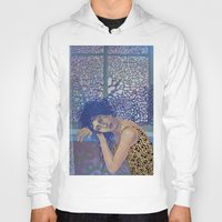 window Hoodies featuring Window by doviArt