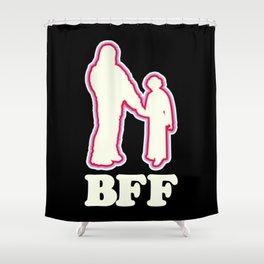 Leia & Chewie: BFF Shower Curtain