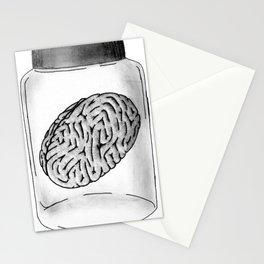 Brain Jar Stationery Cards