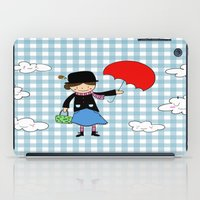 mary poppins iPad Cases featuring Mary Poppins by EnelBosqueEncantado