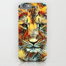 Animal_Art_Lion20161202_by_JAMFoto Slim Case iPhone 6s