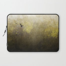 Golden Space Flight Laptop Sleeve