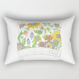All THAT Pussy Cat Hat Rectangular Pillow