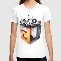 dj T-shirts featuring DJ by DeanDesign