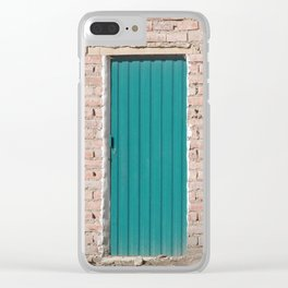 Bolivia door 1 Clear iPhone Case
