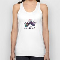 fight Tank Tops featuring Fight by Tanya_tk