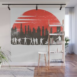 Zombie Control Wall Mural