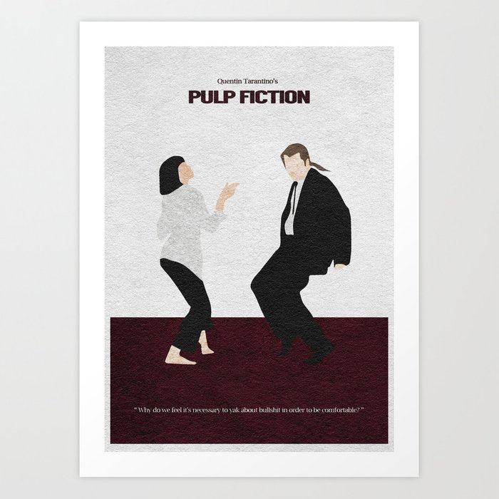 Pulp Fiction Kunstdrucke