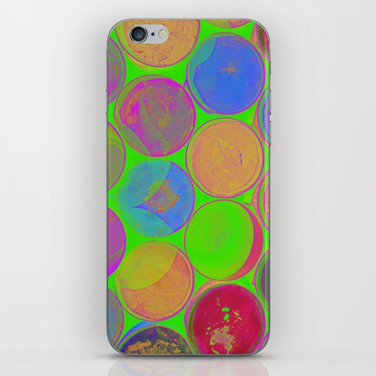 The Lie is a Round Truth. Green. iPhone & iPod Skin