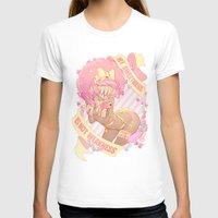 T-shirts featuring My Sweetness is NOT Weakness! by Princess Koneko-Chan