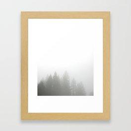 Quiet Misty Morning Framed Art Print