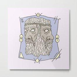 JANUS Metal Print