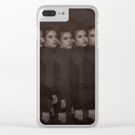 Take ten girls multi-flash Clear iPhone Case