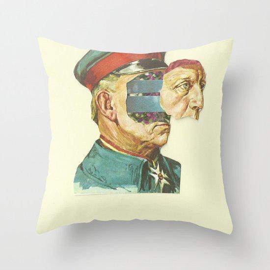 la Pantera Fuerte Throw Pillow