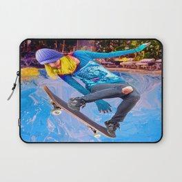 Skateboarding on Water Laptop Sleeve