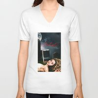 pretty little liars V-neck T-shirts featuring Pretty Little Liars Fantasy Ad by Erwan Khatib