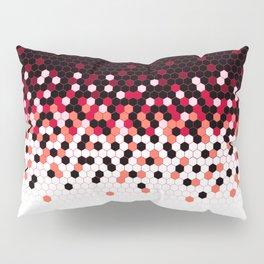 Flat Tech Camouflage Reverse Red Pillow Sham