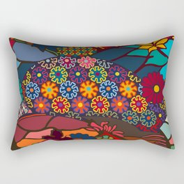 African Style No7, Wedding Day Rectangular Pillow