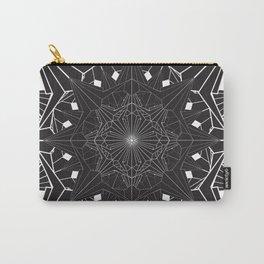 Diamond Sun Mandala Carry-All Pouch