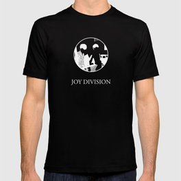 JOY DIVISION - Music | Goth | Indie | Wave | Retro | Vintage | Vector | Black and White | Vinyl  T-shirt