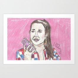 Nancy Jo... This Is Alexis Neiers Calling Art Print
