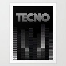 TECNO Art Print