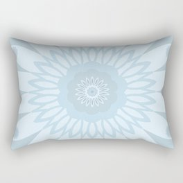 Blooming Blues Rectangular Pillow