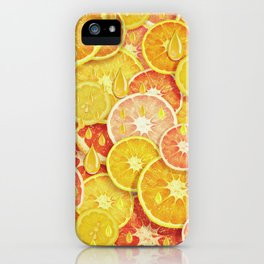 Juicy Fruits iPhone Case