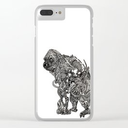 Not so Bigfoot Clear iPhone Case