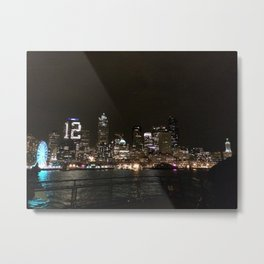 SeaTown- 12th Man  Metal Print