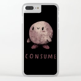 consume Clear iPhone Case