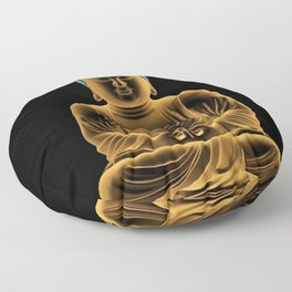 Buddha glow Floor Pillow