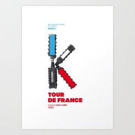 Bike to Life - Kraftwerk Art Print