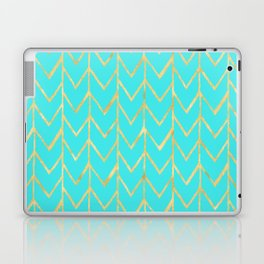 Festive Chevron Pattern Laptop & iPad Skin