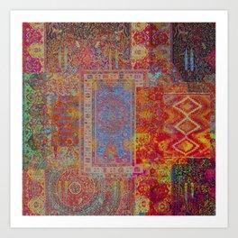 Her Gypsy Dreamland Art Print