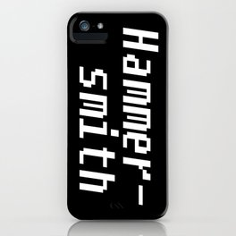 Hammersmith iPhone Case