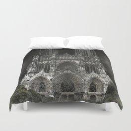 Cathedral Black Duvet Cover