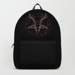Reindeer Pentagram - Satanic Christmas Backpack