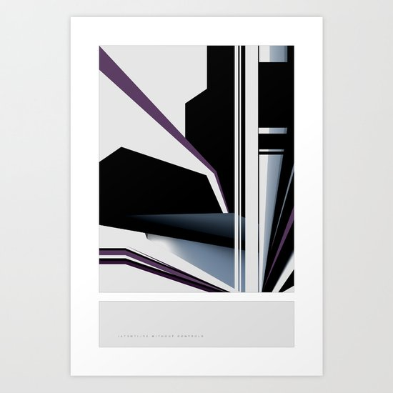 Without Controls Art Print