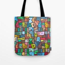 Urban Civilization Tote Bag