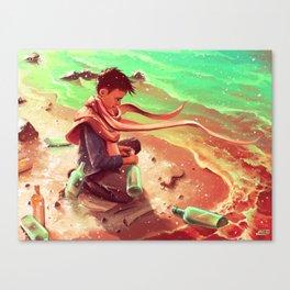 Long Message Service Canvas Print