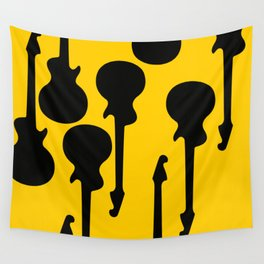 Simple Guitar Wall Tapestry