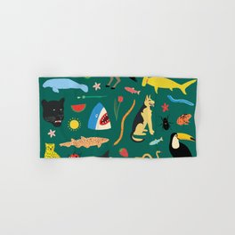 Lawn Party Hand & Bath Towel