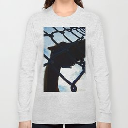 Horse at the Fence Long Sleeve T-shirt