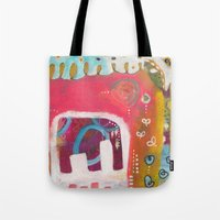 india Tote Bags featuring India by Joana Carvalho
